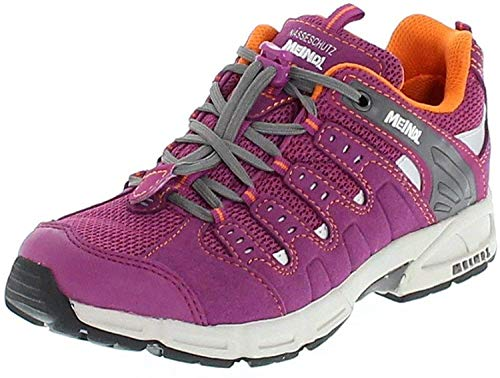 Meindl Multifunktionsschuh Snap Junior, Chaussures de Randonnée Basses, Violet (Fuchsia/Orange 098), 36 EU