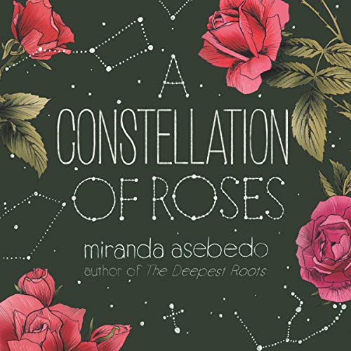 A Constellation of Roses audiobook cover art
