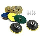 Stone Polishing, Universal M10 Thread Backing Pad, Diamond Polishing Pads Stone Polishing Accessories/Polisher...