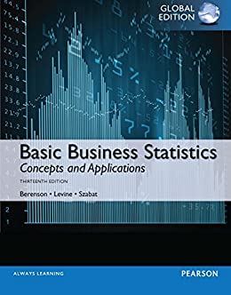 Basic Business Statistics PDF eBook, Global Edition by [Mark L Berenson, David Levine, Kathryn A. Szabat]