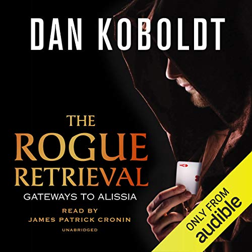 The Rogue Retrieval audiobook cover art