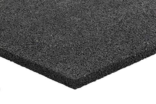 Preisvergleich Produktbild Anti-Vibrationsmatte für Waschmaschine und Trockner / Sicherheitsmatte aus Gummigranulat / Gummimatte / Bautenschutzmatte / Schwingungsdämpfer / 700 x 700 x 15 mm (1 Matte - 0, 49qm)