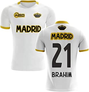 2019-2020 Madrid Concept Training Shirt (White) (Brahim Diaz 21) - Kids