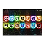 Black Ops Zombies All Perks Retro Leinwand Poster