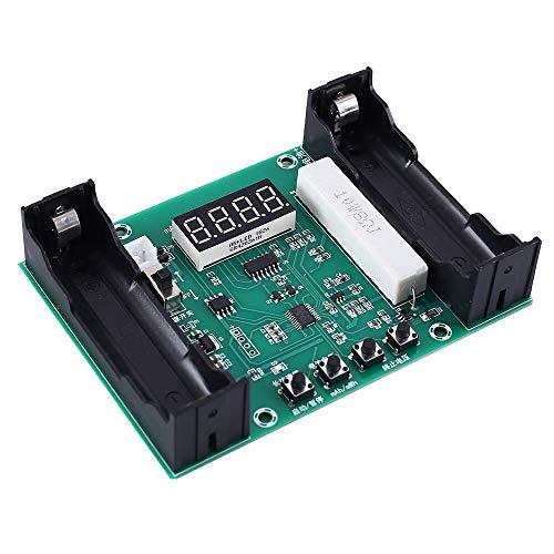Batterie Tester, Batterie Kapazität Prüfer Modul mAh mWh Batterieleistungsanzeige für 18650 Lithium Batterie