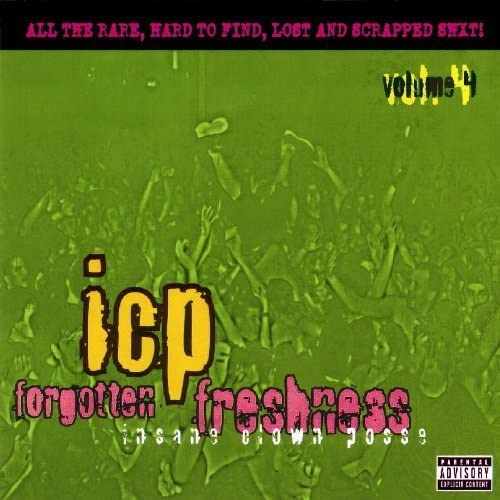 Forgotten Freshness Vol 4 by Psychopathic Records product image