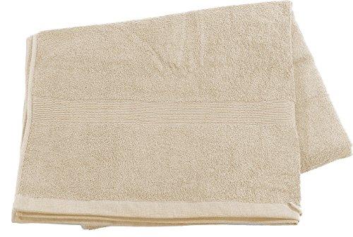 Wilson Gabor Sauna Tücher: Saunatuch aus Baumwoll-Frottee 220 x 90 cm, beige (Badetücher)