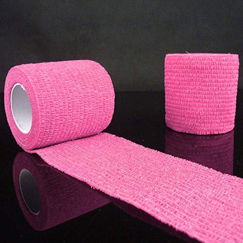YHOM Selbstklebende Knöchelbandage für Finger, Muskelpflege, elastisches Mullband für Sport und Handgelenk