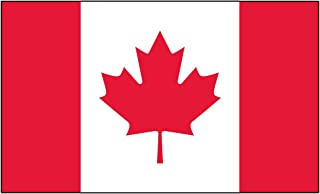 Fox Outdoor Canadian Polyester Flag, 3x5-Feet