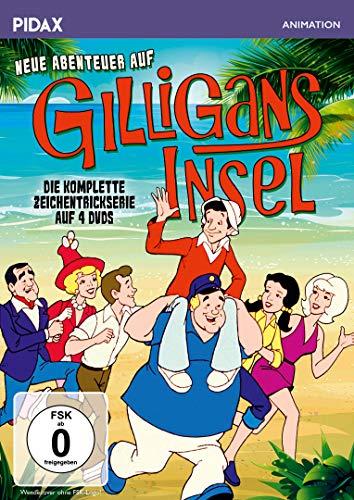 Neue Abenteuer auf Gilligans Insel / Die komplette 24-teilige Zeichentrickserie (Pidax Animation) [4 DVDs]
