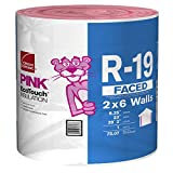 Owens Corning R-19 Faced Fiberglass Roll 23' Wide