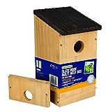 Gardman A04381 -Caja Nido de Madera Natural, 13,5x 13,5x 24cm