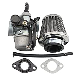 Fit for 4 stroke 49cc-125cc horizontal engine not for GY6 engine or vertical engine,hand choke carburetor not for cable choke or electric choke carb(read description for fitment infos) Mounting bolt dimension: 47mm,the air filter interface outside di...