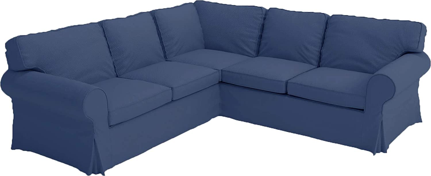 The Thick Max 42% OFF Cotton IKEA Ektorp 2 Replacement Max 62% OFF Sofa is Cover Custo