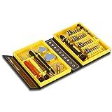 Gearmax 38 en 1 (38 pieza) precisión multifunción destornillador set reparación de herramientas Kit para el iPad, iPhone, Tablets, ordenadores portátiles, PC, Smartphones, relojes & otros dispositivos
