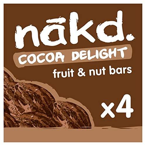 Nakd Cocoa Delight 35g Bar - Multi Pack Case of 12 Bars (Vegan, Gluten Free, Dairy Free)