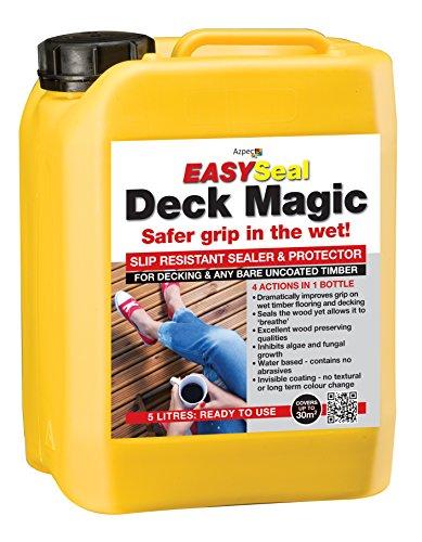 Slip Resistant Decking Solution EASYSeal Deck Magic