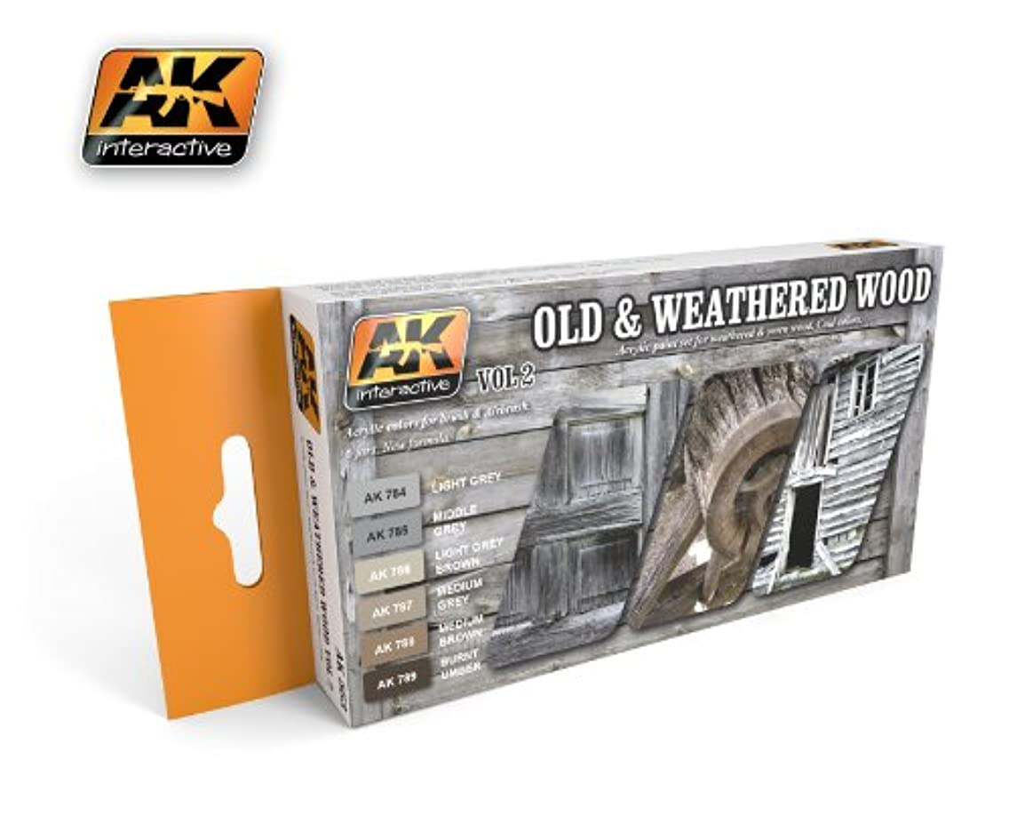 AK Interactive OLD AND WEATHERED WOOD VOL.2 AK 563
