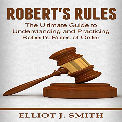 Robert's Rules audiobook cover art