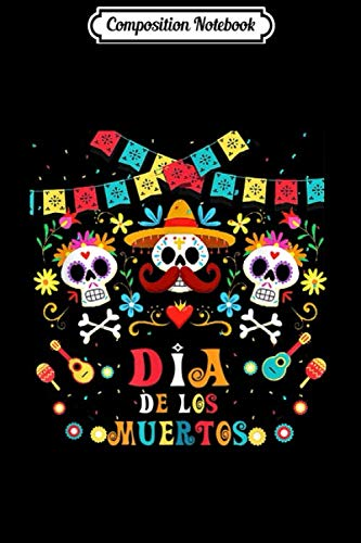 Composition Notebook: Dia De Los Muertos Funny Day of the dead Hanging skulls  Journal/Notebook...