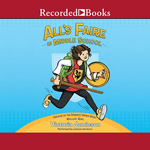All's Faire in Middle School                   Written by:                                                                                                                                 Victoria Jamieson                               Narrated by:                                                                                                                                 Laura Knight Keating,                                                                                        Susan Bennett,                                                                                        Angelo Di Loreto,                   and others                 Length: 2 hrs and 47 mins     Not rated yet     Overall 0.0