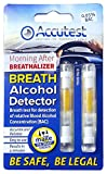 Accutest - 2 Pruebas de alcoholemia desechables - Kit de prueba de alcohol, certificado por la UE y Francia