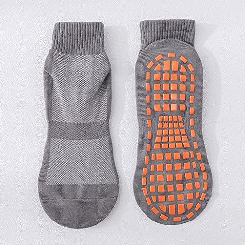 Diaod 2021 Calcetines de Yoga Moda Puntos de Silicona Cortos Anti Deslizamiento de algodón Calcetines de trampolín Danza Fútbol Fútbol Calcetines Deportivos Socks Antideslizantes