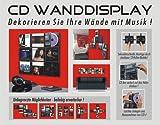 CD Wanddisplay / CD Wandhalter / CD Halter für 9 CD´s - Zur bildhaften...