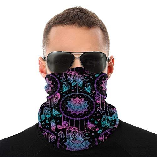 Halstuch, Gesichtsmaske, für Damen und Herren, Kopftuch, Kopfbedeckung, Sturmhaube, zum Angeln, Motorradfahren, Laufen, Schwarz, Farbe 4, M
