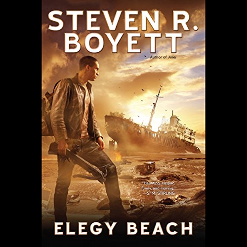 Elegy Beach audiobook cover art