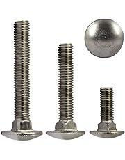 OPIOL QUALITY - 30 tornillos de cerradura, M5 x 12, de acero inoxidable A2, V2A, con cuadrado