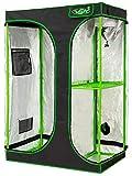 VITA5 Growbox 2-in-1 | Growzelt Zuchtschrank für Pflanzenzucht zuhause | Lichtdicht Reißfestes...