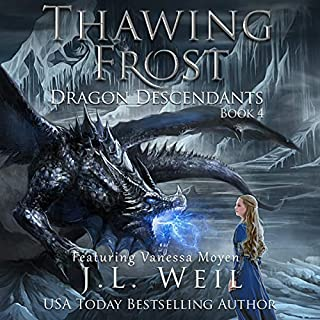 Thawing Frost audiobook cover art