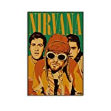 16 Kurt Cobain Poster Leinwand Kunst Bild Home Decor Poster