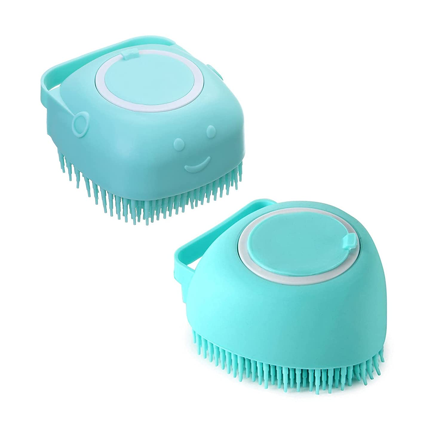 2 pcs Silicone Body Brush Massage Scrubber Shower Discount is also underway Loofah High quality new