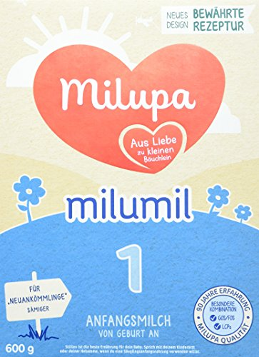 milupa milumil 1 Anfangmilch, Säuglingsmilchnahrung, 600g