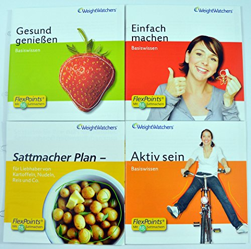 Weight Watchers 'Start-Broschüren' inkl.POINTS®Analyse