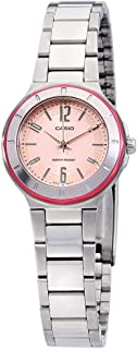 Core Quartz Movement Pink Dial Ladies Watch LTP-1367D-4ADF