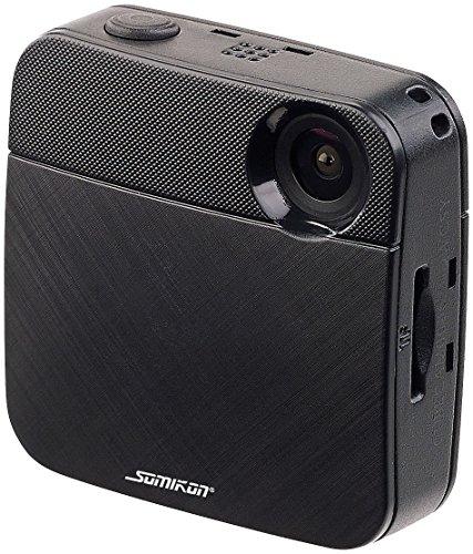 Somikon Bodycam Mini HD Body Cam mit WLAN Livestream Funktion fur YouTube Facebook Mini Bodycam