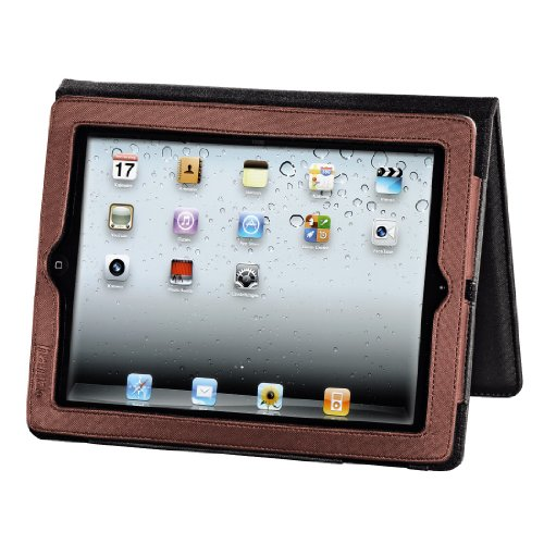 Hama Portfolio Arezzo Tasche für Apple iPad 2 rot