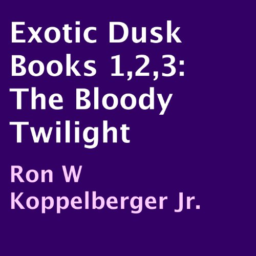 Exotic Dusk Books 1,2,3 cover art