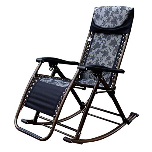 Schaukelstuhl Schaukelstuhl Liegestuhl Schaukelstuhl Balkon Erwachsener Stuhl Frühstück Klappstuhl Nap Chair Happy Life