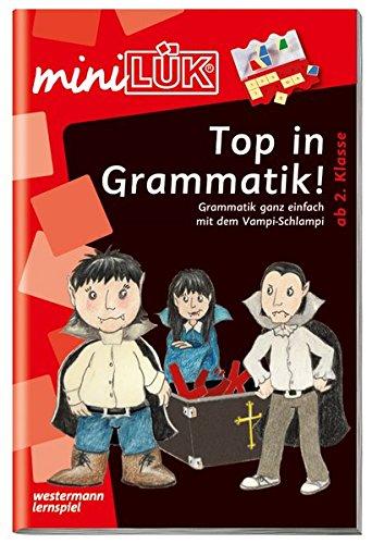 miniLÜK-Übungshefte: miniLÜK: 2./3. Klasse - Deutsch: Top in Grammatik