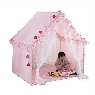 XBR Mini barntält, tält inomhus spelhus, barnens stora husform tält nattduksbord tält sovrum läsning tält/vikt kant design...