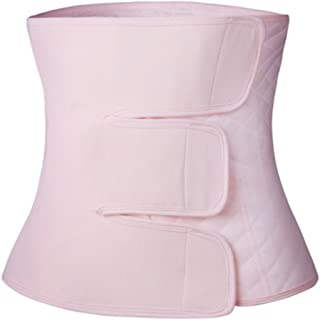 Paz Wean Post Belly Band Postpartum Recovery Belt Girdle Belly Binder, Cotton