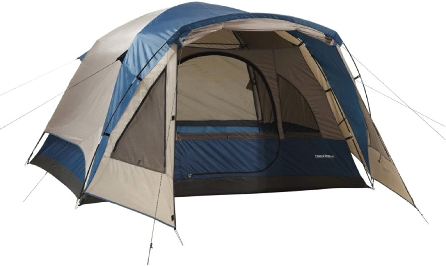 4 Person Tent Wilderness LodgeDome Style Vestibule For Added Element Predection by Field & Stream