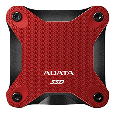 ADATA Entry Series SD600Q: 240GB Red External SSD USB 3.1 Gaming Console Compatible