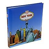Henzo New York - Álbum de Fotos con diseño de Nueva York, Color Azul