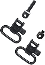 Uncle Mike's Quick Detachable Fore End Band Style Sling Swivels (Blued, 1-Inch Loop)