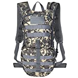 Unigear Tactical Hydration Pack Backpack 900D with 2.5L Bladder for Hiking, Biking, Running, Walking...